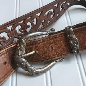 Vintage Brighton Belt. Size 36